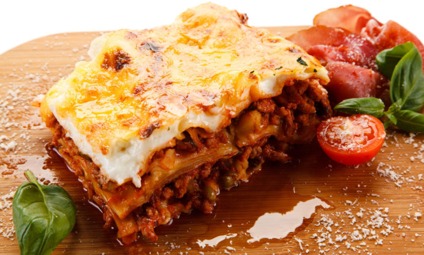 Meat lasagne with Spicy Chorizo